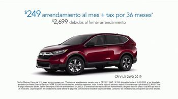 Happy Honda Days Sales Event TV Spot, 'Galleta de apoyo emocional' [Spanish] [T2] - Thumbnail 7