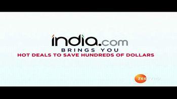 India.com TV Spot, 'Hot Deals' - Thumbnail 1