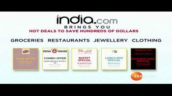 India.com TV Spot, 'Hot Deals'