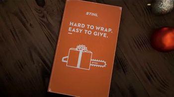 STIHL TV Spot, 'Holidays: Hard to Wrap, Easy to Give: Battery Set' - Thumbnail 1