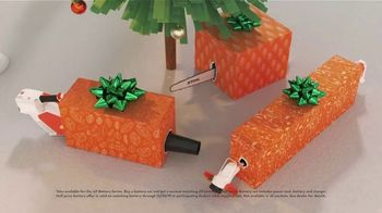 STIHL TV Spot, \'2019 Holidays: Hard to Wrap, Easy to Give: Battery Set\'