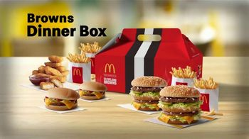 McDonald's Browns Dinner Box TV Spot, 'Tackle Your Hunger'