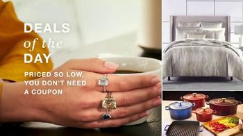 Macy's One Day Sale  TV Spot, 'So Low: Cookware, Comforters and Jewelry' - Thumbnail 3