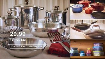 Macy's One Day Sale  TV Spot, 'So Low: Cookware, Comforters and Jewelry' - Thumbnail 5