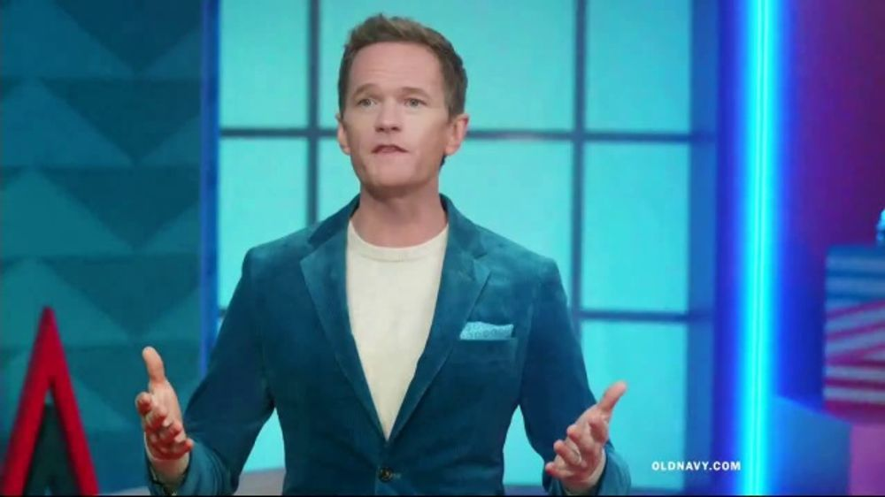 Old Navy TV Commercial, 'Holiday Stress: 50 Percent Off' Featuring Neil Patrick Harris