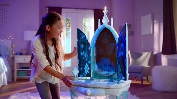 Disney Frozen II Elsa's Enchanted Ice Vanity and Adventure Dress TV Spot, 'See Elsa's Story Unfold' - 614 commercial airings