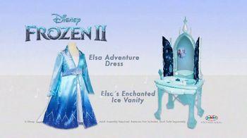 Disney Frozen II Elsa's Enchanted Ice Vanity and Adventure Dress TV Spot, 'See Elsa's Story Unfold' - Thumbnail 8