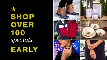 Macy's Black Friday Preview TV Spot, Beat the Rush: Bedding, Appliances and PJs' - Thumbnail 4