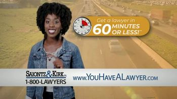 Saiontz & Kirk, P.A. TV Spot, '60 Minutes or Less' - Thumbnail 4