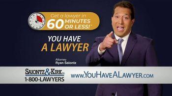Saiontz & Kirk, P.A. TV Spot, '60 Minutes or Less' - Thumbnail 5