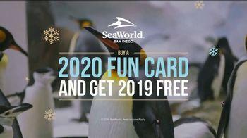 SeaWorld Christmas Celebration TV Spot, '2020 Fun Card' - Thumbnail 5