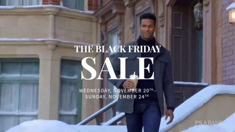 JoS. A. Bank Black Friday Sale TV Commercial, 'Shirts, Sweaters, Pants and Suits'