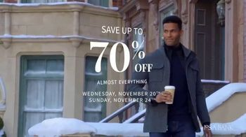 JoS. A. Bank Black Friday Sale TV Spot, 'Shirts, Sweaters, Pants and Suits'