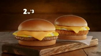 Jack in the Box 2 for $3 Breakfast Jacks TV Spot, 'Early Bird' - Thumbnail 1