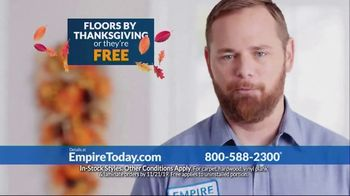 Empire Today TV Spot, 'Floors by Thanksgiving' - Thumbnail 3