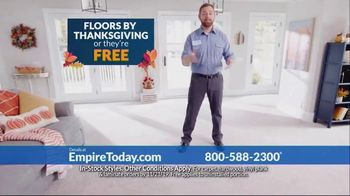 Empire Today TV Spot, 'Floors by Thanksgiving' - Thumbnail 4