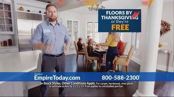 Empire Today TV Spot, 'Floors by Thanksgiving' - Thumbnail 6