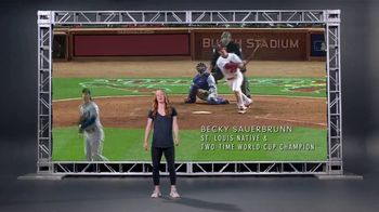 Explore St. Louis TV Spot, 'Sports' Featuring Becky Sauerbrunn - Thumbnail 2