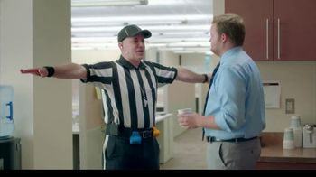 GEICO TV Spot, 'Workplace Referee' - 1 commercial airings