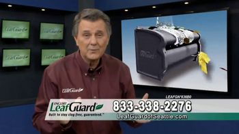 LeafGuard of Seattle TV Spot, 'Guarantee: 75 Percent Off Labor & Gift Cards' - Thumbnail 1
