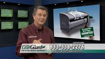 LeafGuard of Seattle TV Spot, 'Guarantee: 75 Percent Off Labor & Gift Cards'