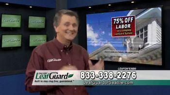 LeafGuard of Seattle TV Spot, 'Guarantee: 75 Percent Off Labor & Gift Cards' - Thumbnail 3