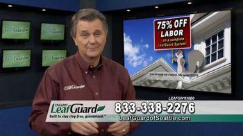LeafGuard of Seattle TV Spot, 'Guarantee: 75 Percent Off Labor & Gift Cards' - Thumbnail 4