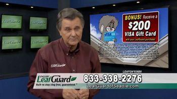 LeafGuard of Seattle TV Spot, 'Guarantee: 75 Percent Off Labor & Gift Cards' - Thumbnail 5