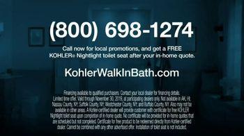 Kohler TV Spot, 'Walk-In Bath: Free Nightlight' - Thumbnail 10