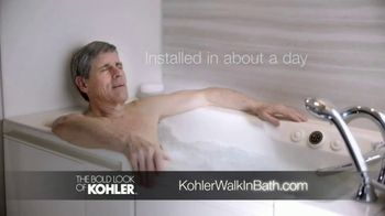 Kohler TV Spot, 'Walk-In Bath: Free Nightlight' - Thumbnail 8