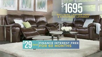 Rooms to Go Holiday Sale TV Spot, 'Reclining Leather Living Room' - Thumbnail 3