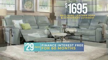 Rooms to Go Holiday Sale TV Spot, 'Reclining Leather Living Room' - Thumbnail 5
