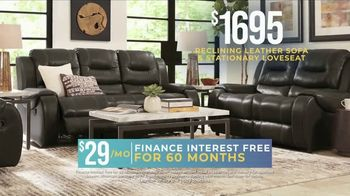 Rooms to Go Holiday Sale TV Spot, 'Reclining Leather Living Room' - Thumbnail 6