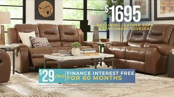 Rooms to Go Holiday Sale TV Spot, 'Reclining Leather Living Room' - Thumbnail 7