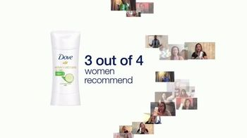 Dove Advanced Care Cool Esentials TV Spot, 'Three out of Four: Crystal' - Thumbnail 1