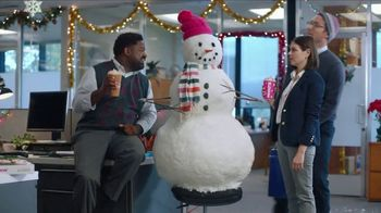 Dunkin' Holiday Signature Lattes TV Spot, 'Snowmanin'