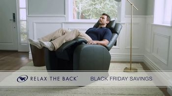 Relax the Back Black Friday Savings TV Spot, 'Celebrate Early: $500 Off Chairs' - Thumbnail 8