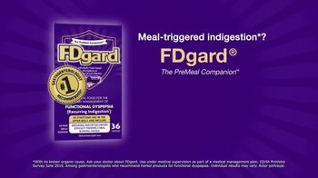 FDgard TV Spot, 'Meal-Triggered Indigestion' - Thumbnail 7
