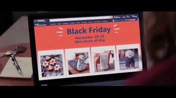 Amazon Black Friday Sale TV Spot, 'Deals All Day'