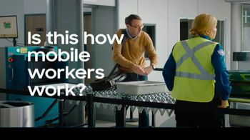Samsung Galaxy Note10 TV Spot, 'Mobile Workspace Solutions: Airport Security'