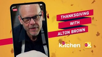 Food Network Kitchen App TV Spot, 'Thanksgiving With Alton Brown' - Thumbnail 1