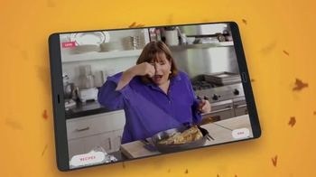 Food Network Kitchen App TV Spot, 'Thanksgiving With Alton Brown' - Thumbnail 3