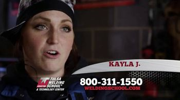 Tulsa Welding School TV Spot, 'Kayla: Career' - Thumbnail 2