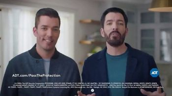 ADT Pass the Protection TV Spot, 'Smart Home Security System' Featuring Jonathan Scott, Drew Scott