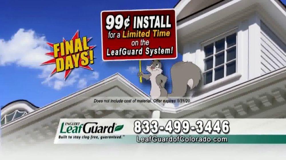 LeafGuard of Colorado TV Commercial, 'Risk Your Life'