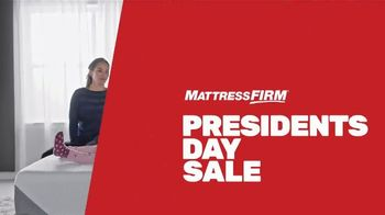 Mattress Firm Presidents Day Sale TV Spot, 'Save Up to $500 Plus $300 Bonus Cash' - Thumbnail 3