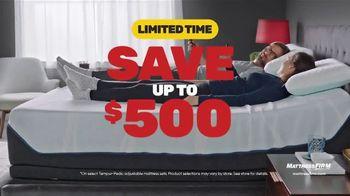 Mattress Firm Presidents Day Sale TV Spot, 'Save Up to $500 Plus $300 Bonus Cash' - Thumbnail 4