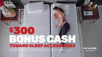 Mattress Firm Presidents Day Sale TV Spot, 'Save Up to $500 Plus $300 Bonus Cash' - Thumbnail 8