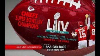 Big Time Bats TV Spot, 'KC Chiefs Super Bowl LIV Champions Art Football' - Thumbnail 1
