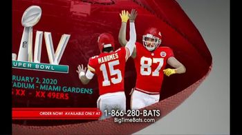 Big Time Bats TV Spot, 'KC Chiefs Super Bowl LIV Champions Art Football' - Thumbnail 3